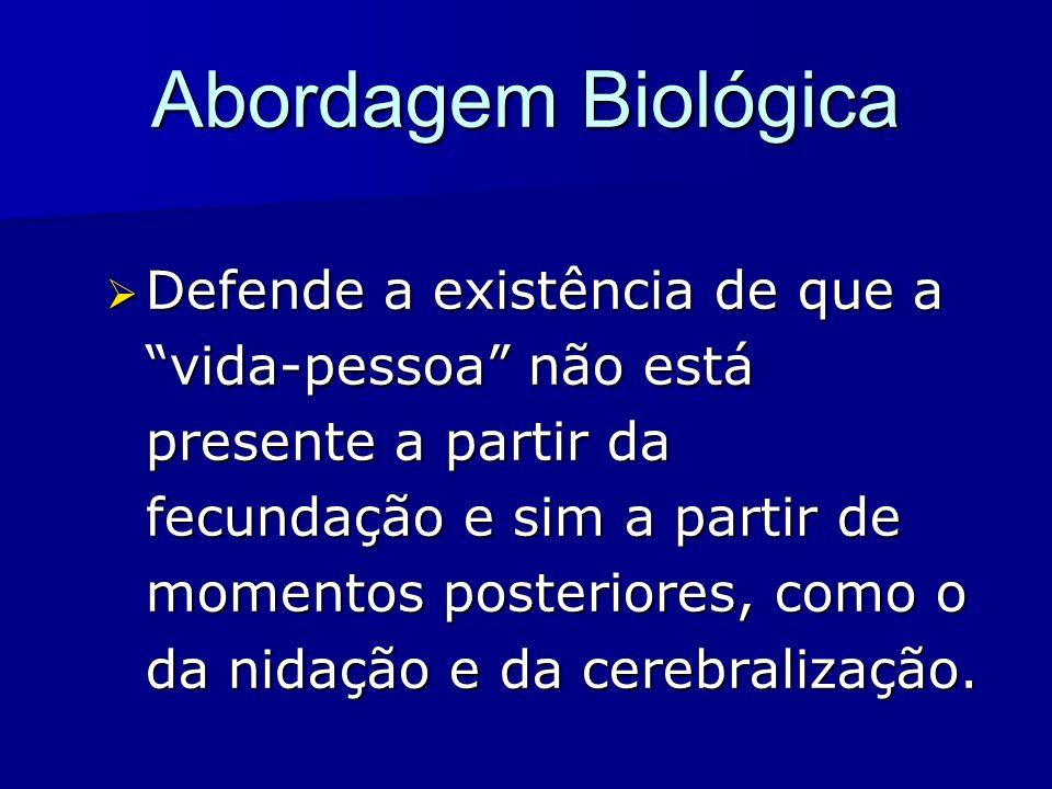 Abordagem Biológica