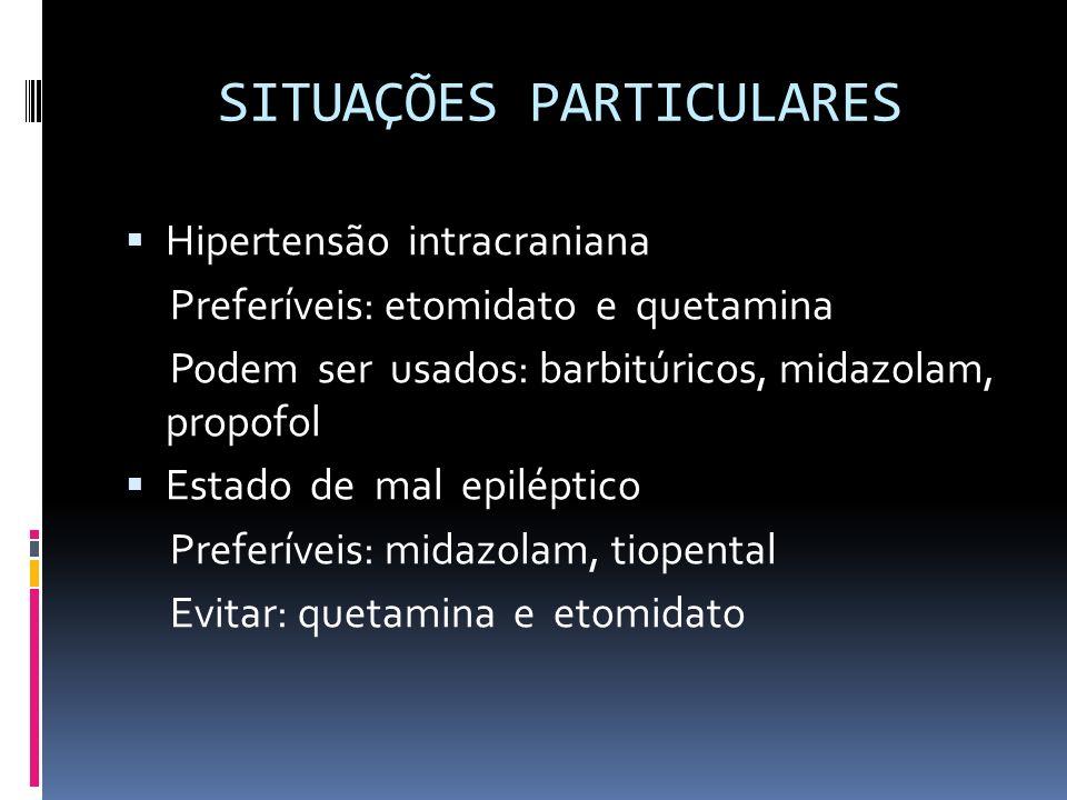SITUAÇÕES PARTICULARES