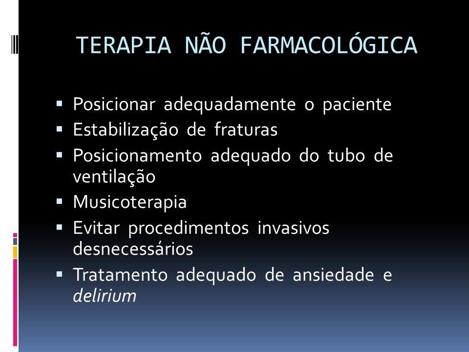 TERAPIA NÃO FARMACOLÓGICA