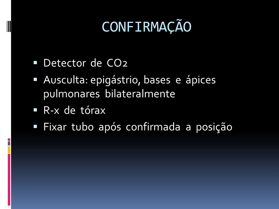 CONFIRMAÇÃO Detector de CO2