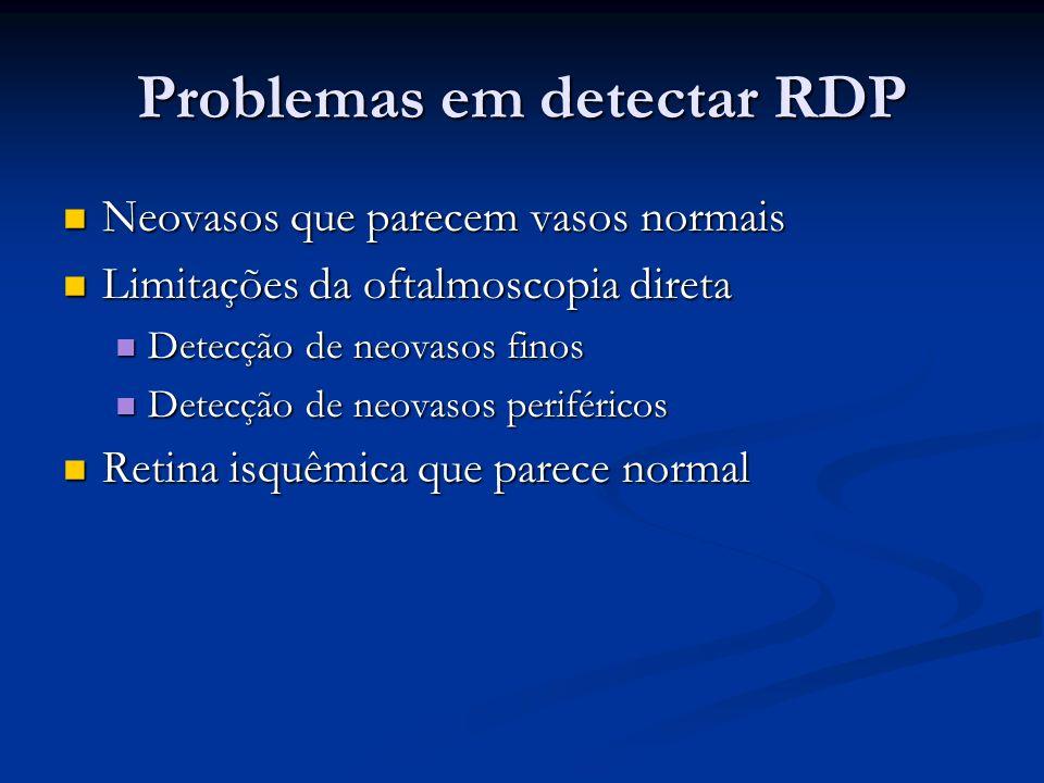 Problemas em detectar RDP