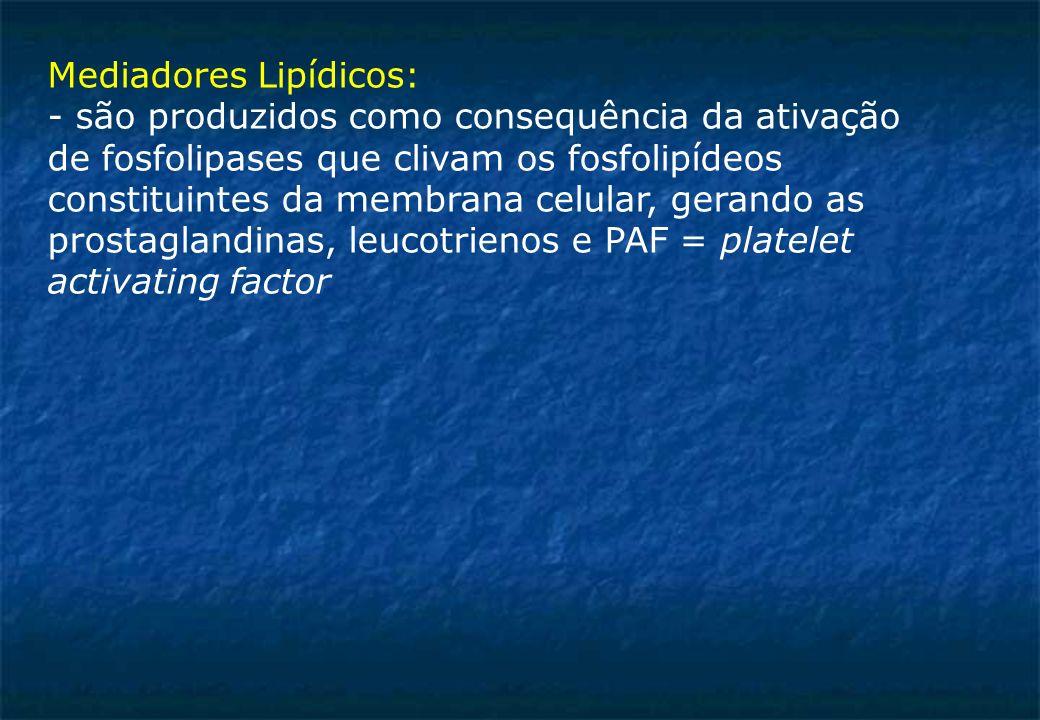 Mediadores Lipídicos:
