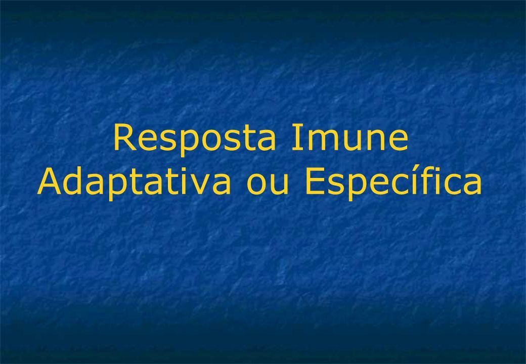 Resposta Imune Adaptativa ou Específica
