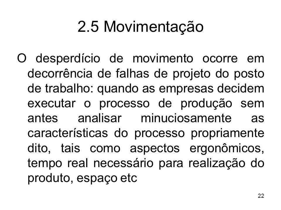 2.5 Movimentação