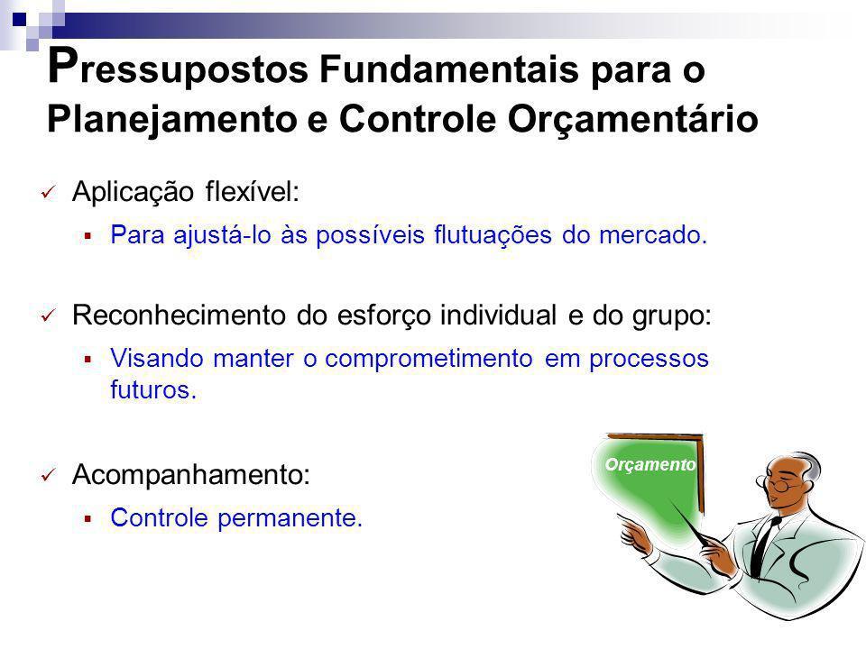 Pressupostos Fundamentais para o Planejamento e Controle Orçamentário