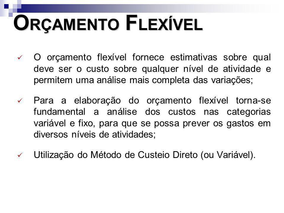 ORÇAMENTO FLEXÍVEL