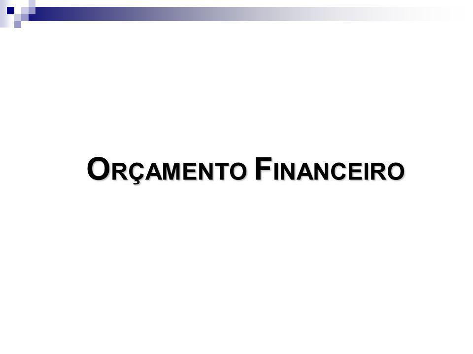 ORÇAMENTO FINANCEIRO