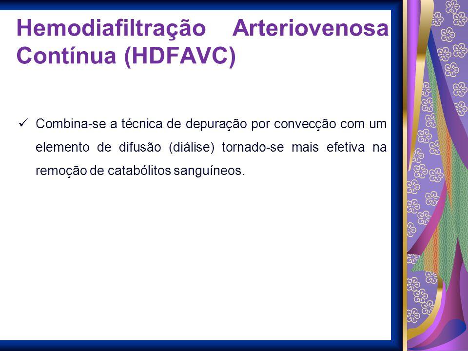 Hemodiafiltração Arteriovenosa Contínua (HDFAVC)