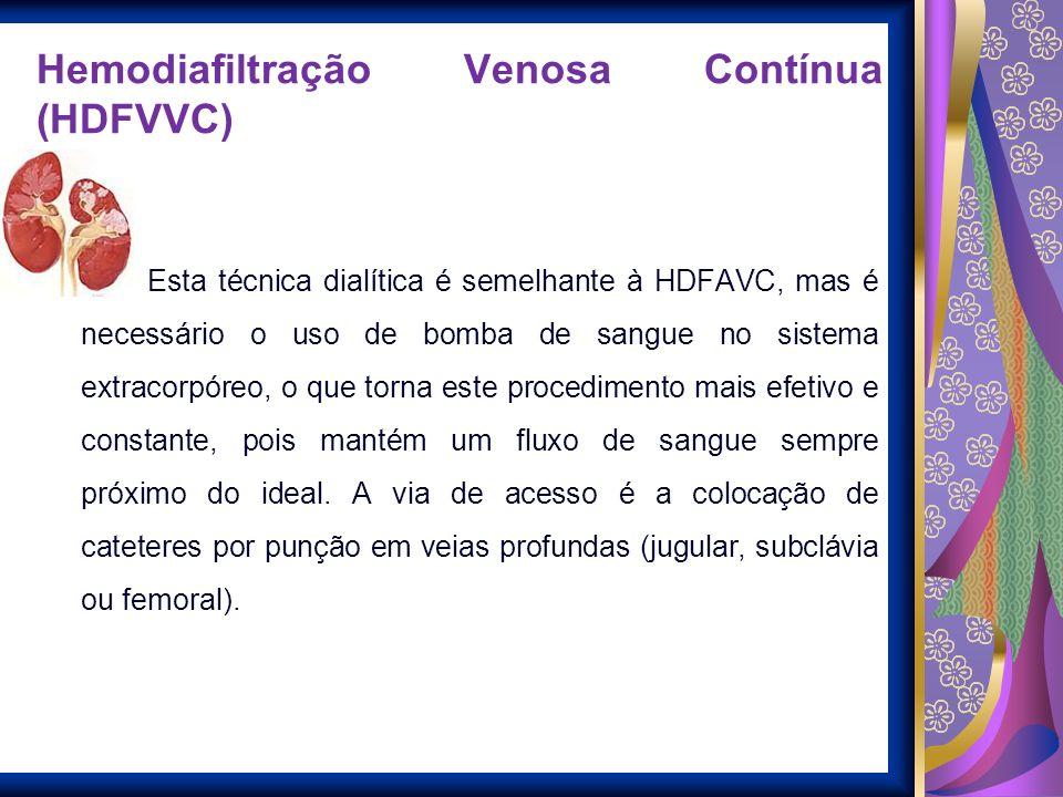 Hemodiafiltração Venosa Contínua (HDFVVC)