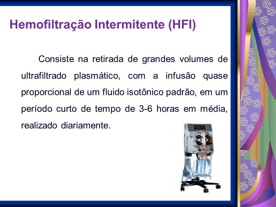 Hemofiltração Intermitente (HFI)