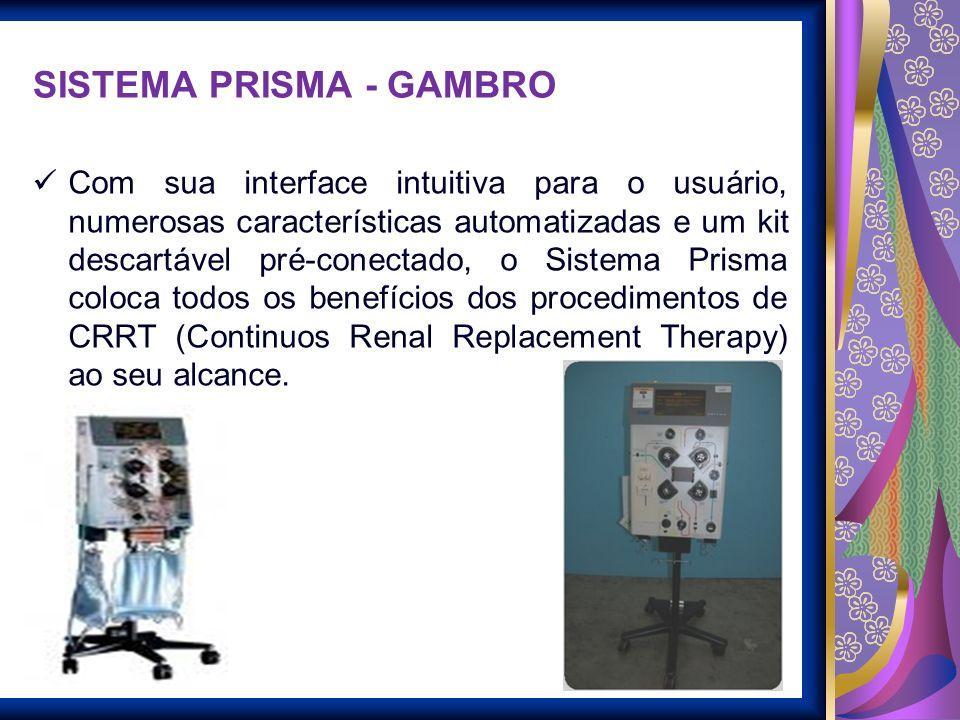 SISTEMA PRISMA - GAMBRO