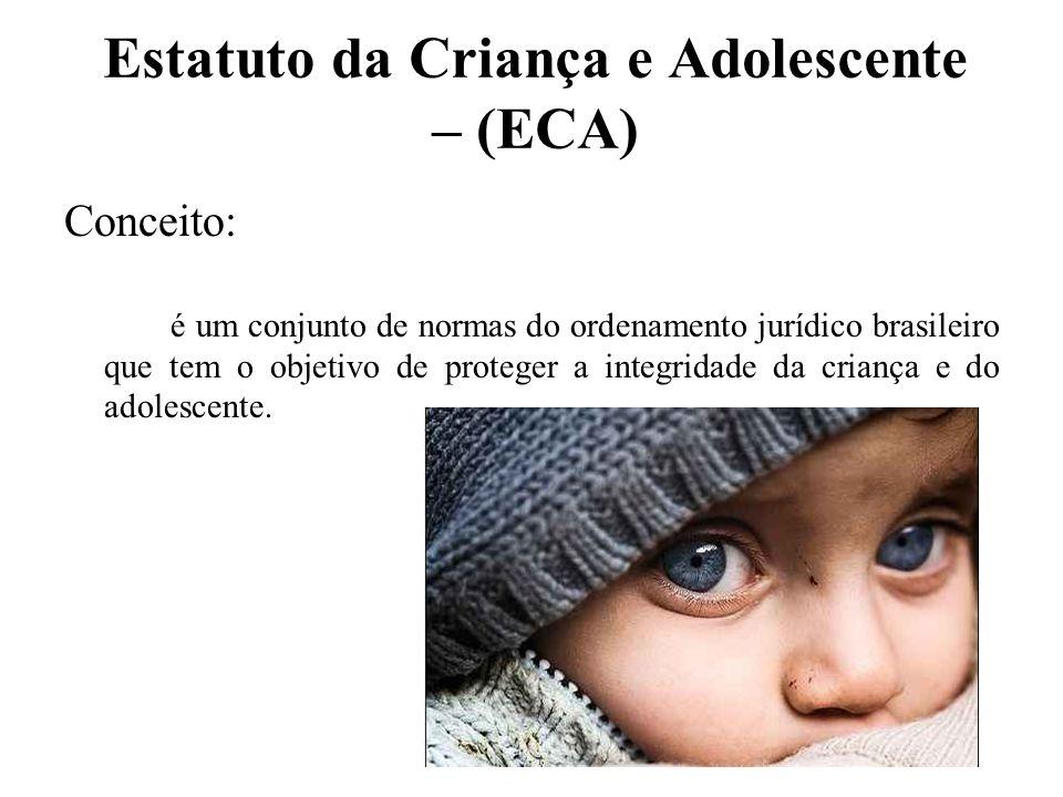 Estatuto da Criança e Adolescente – (ECA)