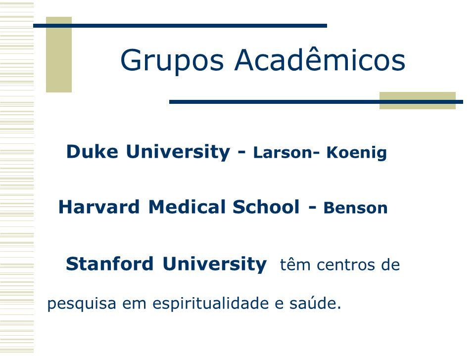 Grupos Acadêmicos Duke University - Larson- Koenig