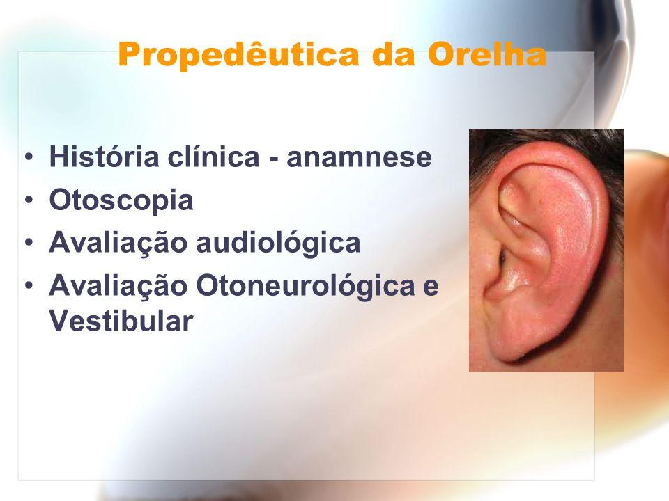 Propedêutica da Orelha