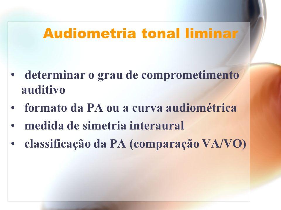 Audiometria tonal liminar