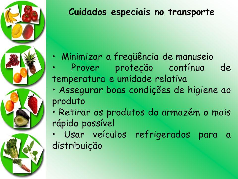 Cuidados especiais no transporte