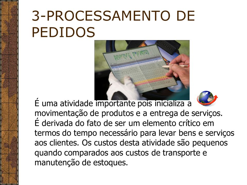 3-PROCESSAMENTO DE PEDIDOS