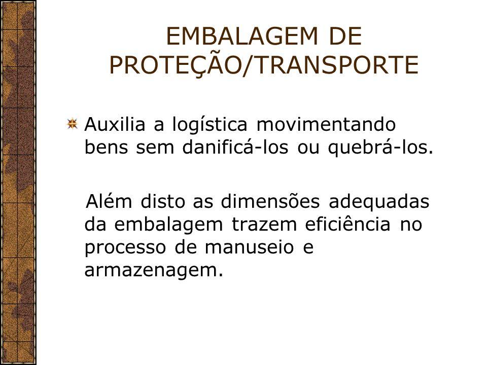 EMBALAGEM DE PROTEÇÃO/TRANSPORTE