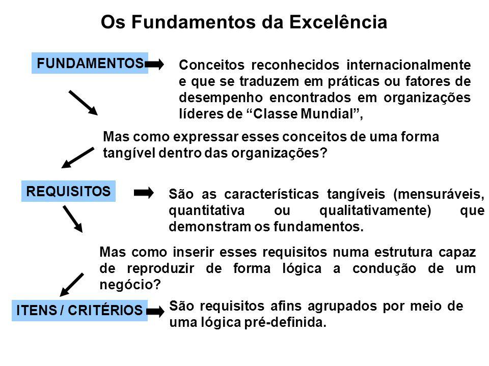 Os Fundamentos da Excelência