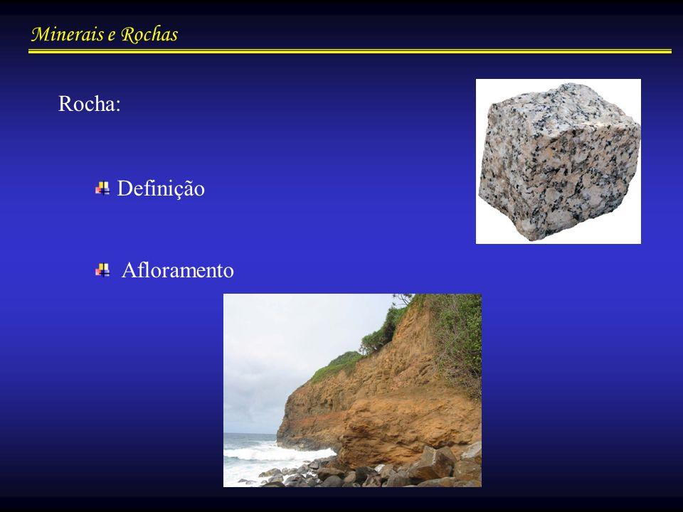 Rocha: Definição Afloramento