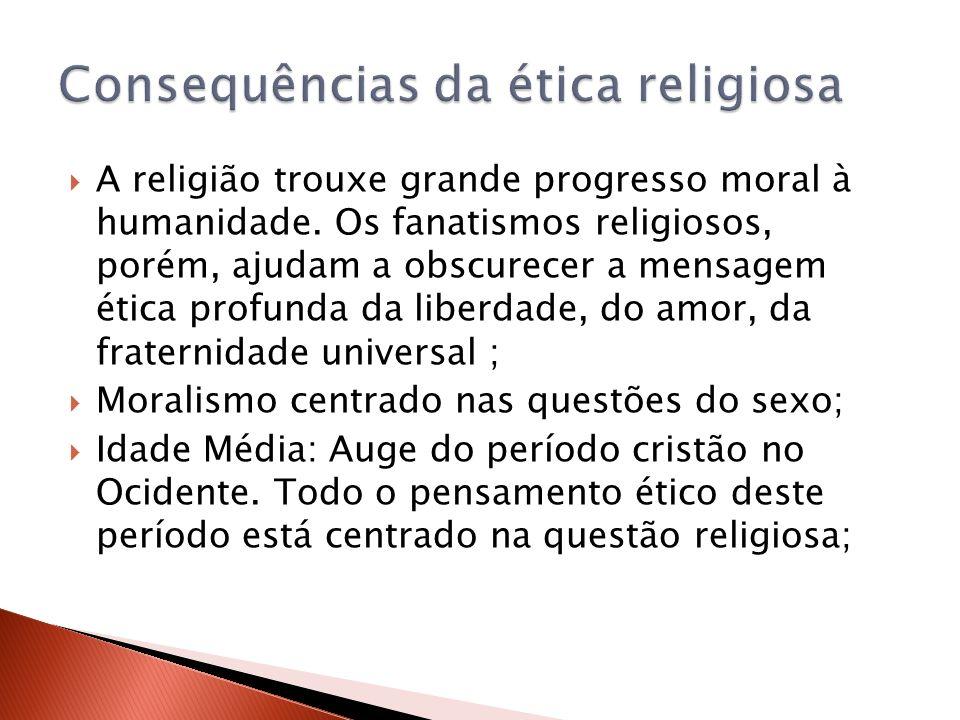 Consequências da ética religiosa