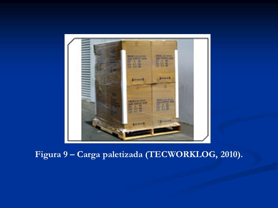 Figura 9 – Carga paletizada (TECWORKLOG, 2010).