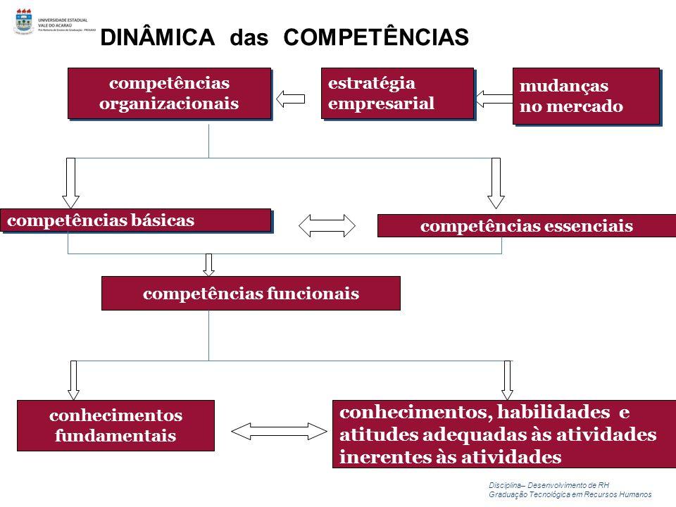 competências essenciais competências funcionais