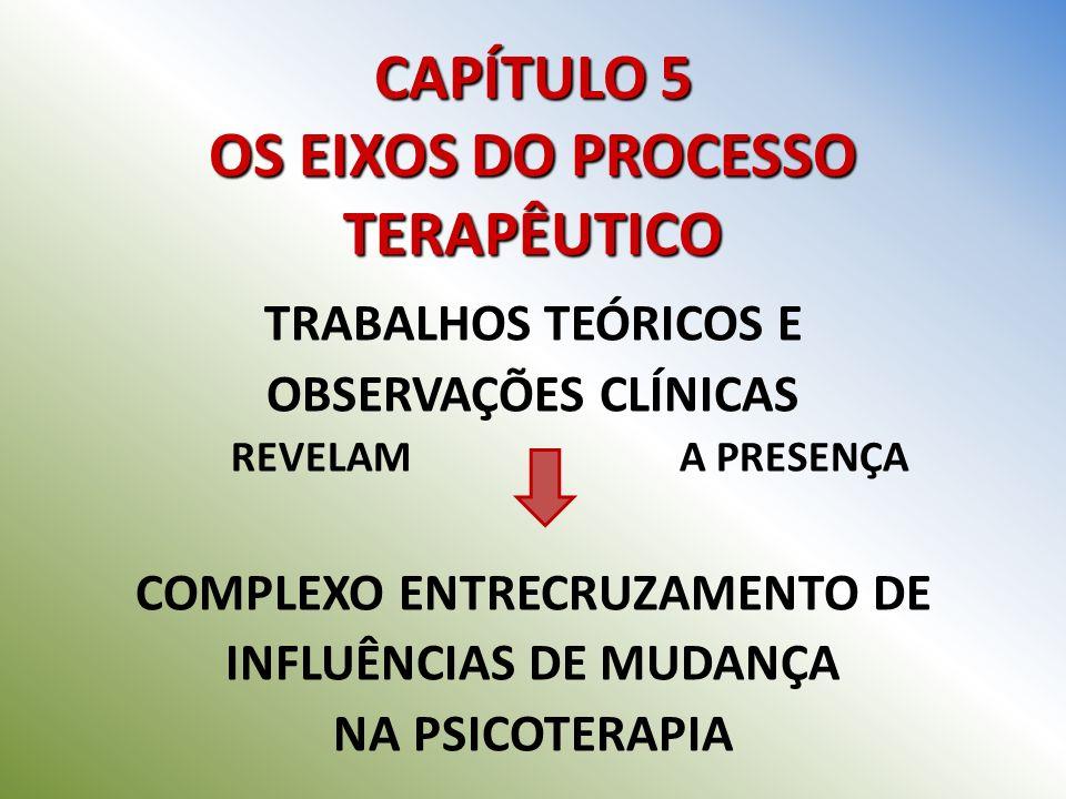 CAPÍTULO 5 OS EIXOS DO PROCESSO TERAPÊUTICO