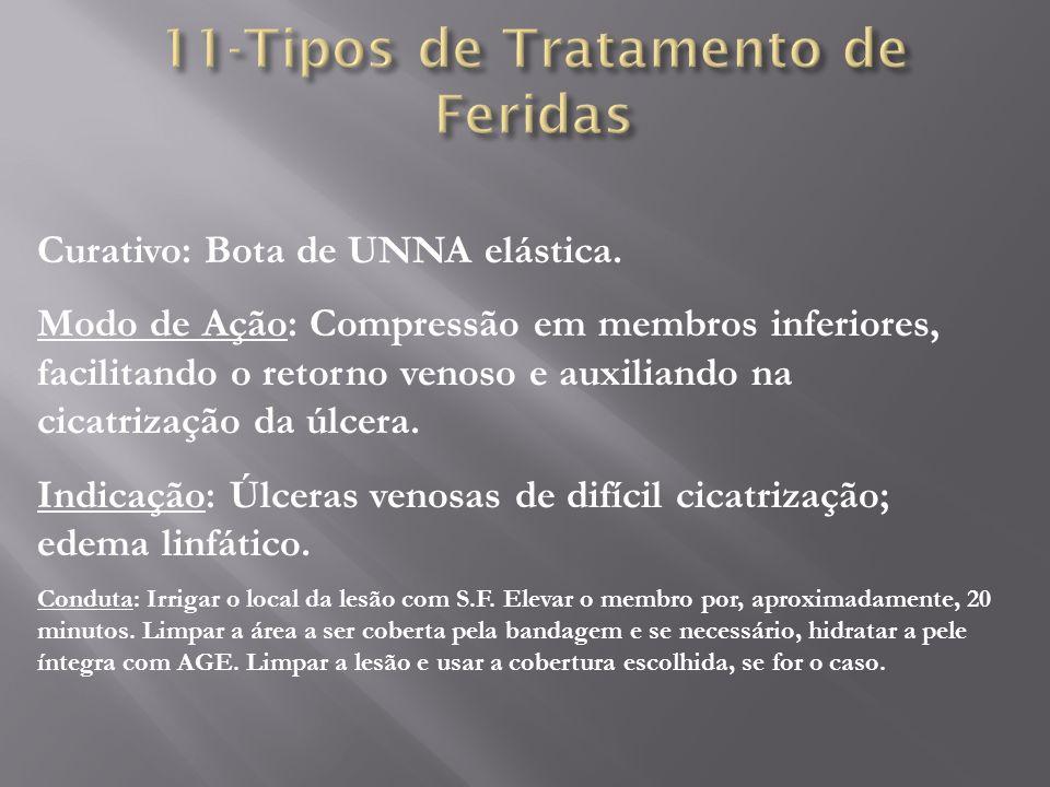 11-Tipos de Tratamento de Feridas