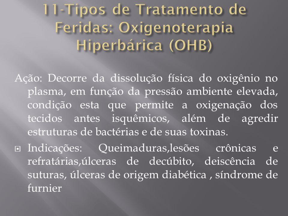 11-Tipos de Tratamento de Feridas: Oxigenoterapia Hiperbárica (OHB)