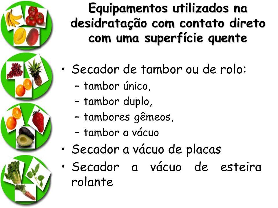 Secador de tambor ou de rolo: