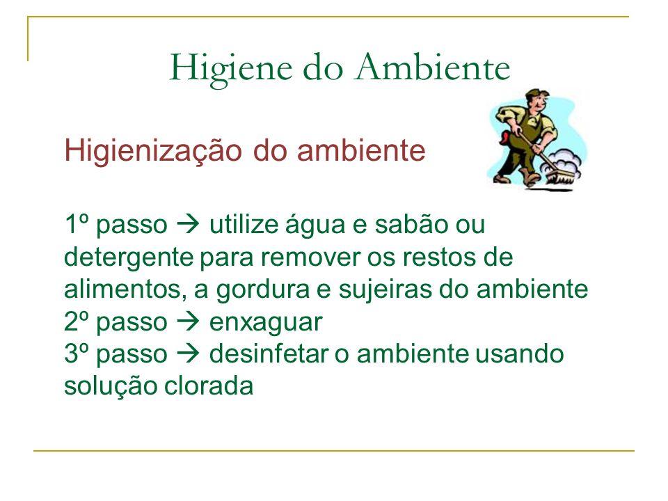 Higiene do Ambiente
