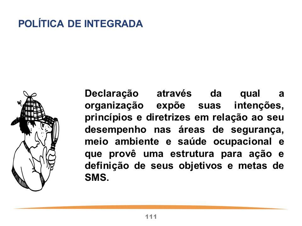 POLÍTICA DE INTEGRADA