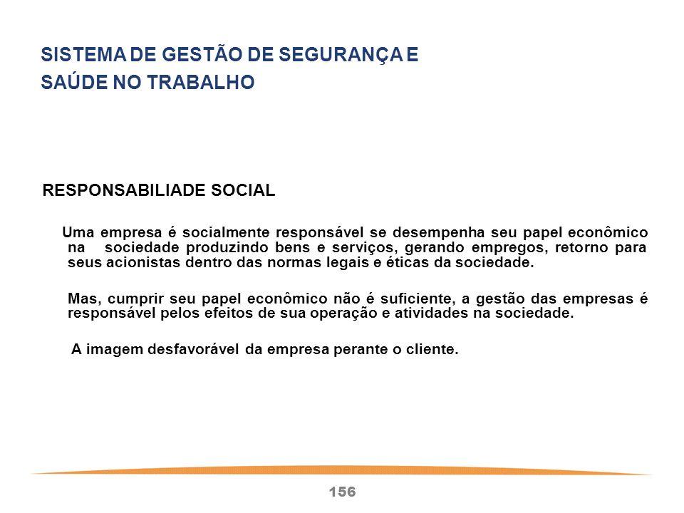 SISTEMA DE GESTÃO DE SEGURANÇA E SAÚDE NO TRABALHO