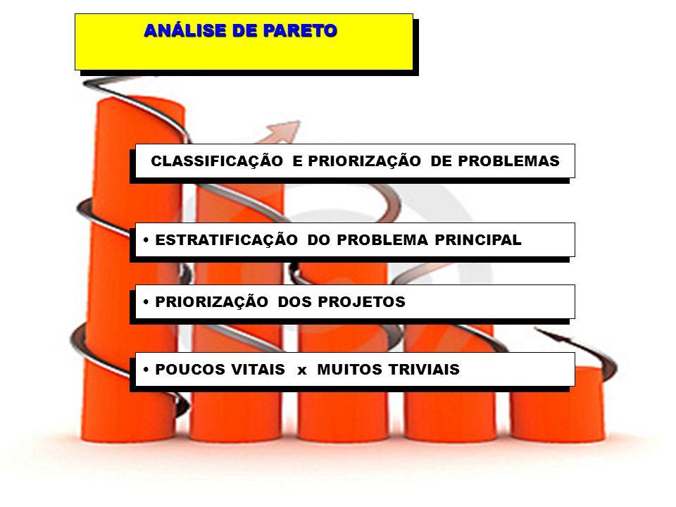 CLASSIFICAÇÃO E PRIORIZAÇÃO DE PROBLEMAS