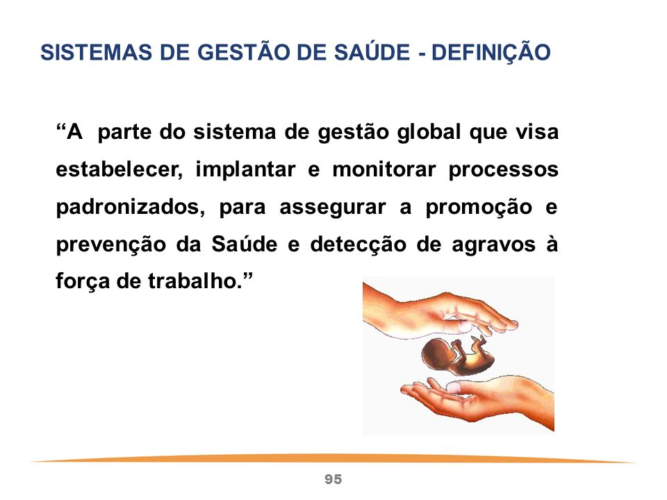 SISTEMAS DE GESTÃO DE SAÚDE - DEFINIÇÃO