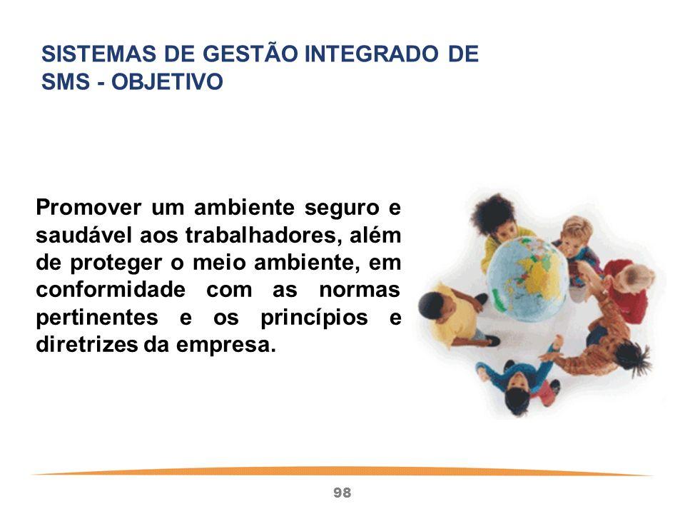 SISTEMAS DE GESTÃO INTEGRADO DE SMS - OBJETIVO