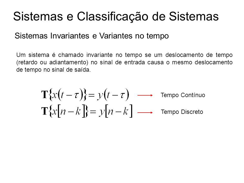 Sistemas e Classificação de Sistemas