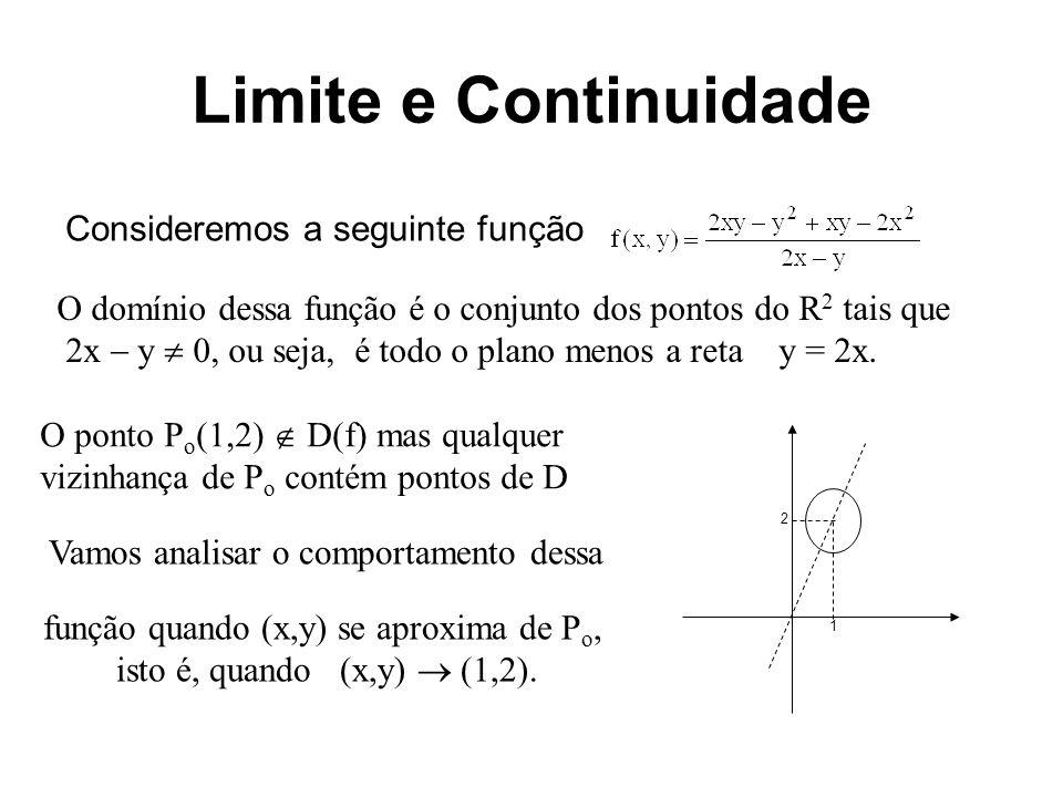 função quando (x,y) se aproxima de Po,