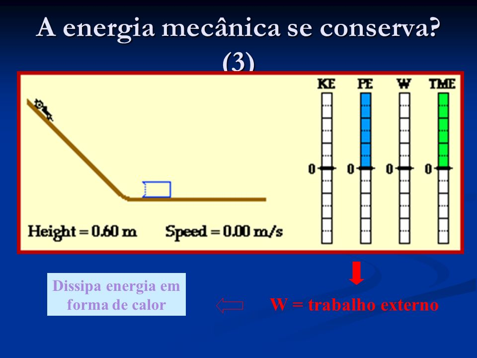 A energia mecânica se conserva (3)