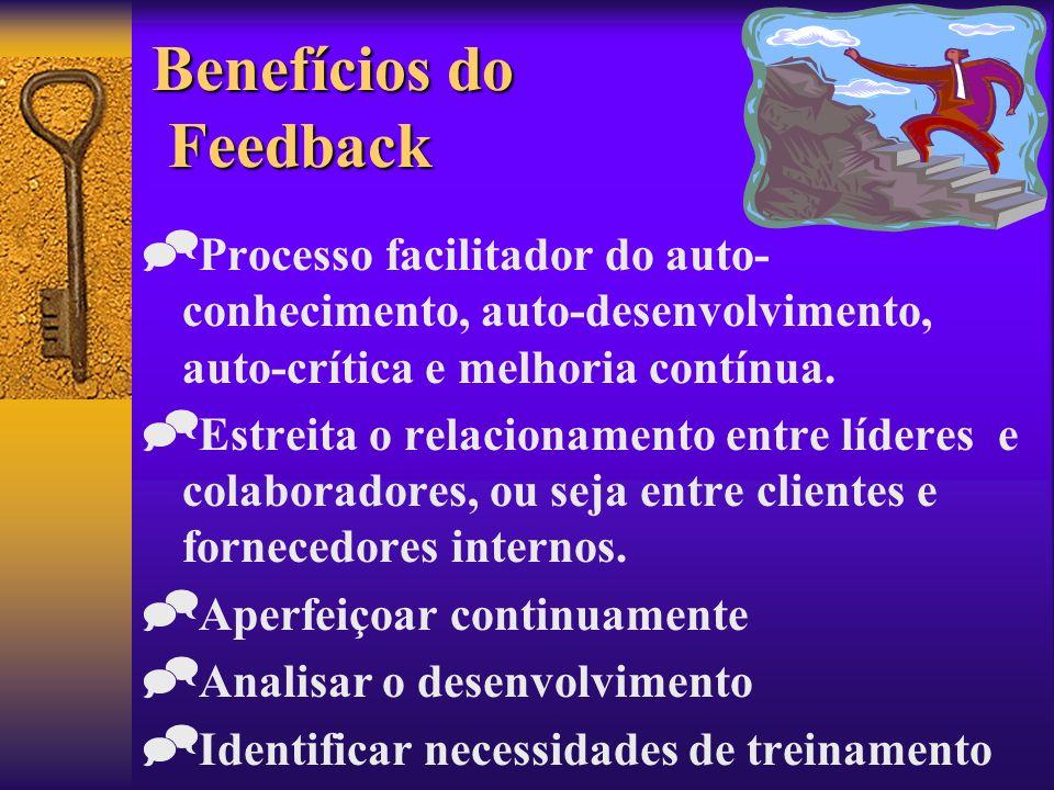Benefícios do Feedback