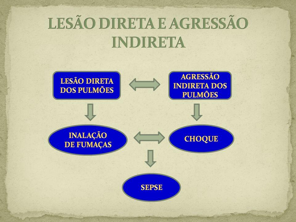 LESÃO DIRETA E AGRESSÃO INDIRETA