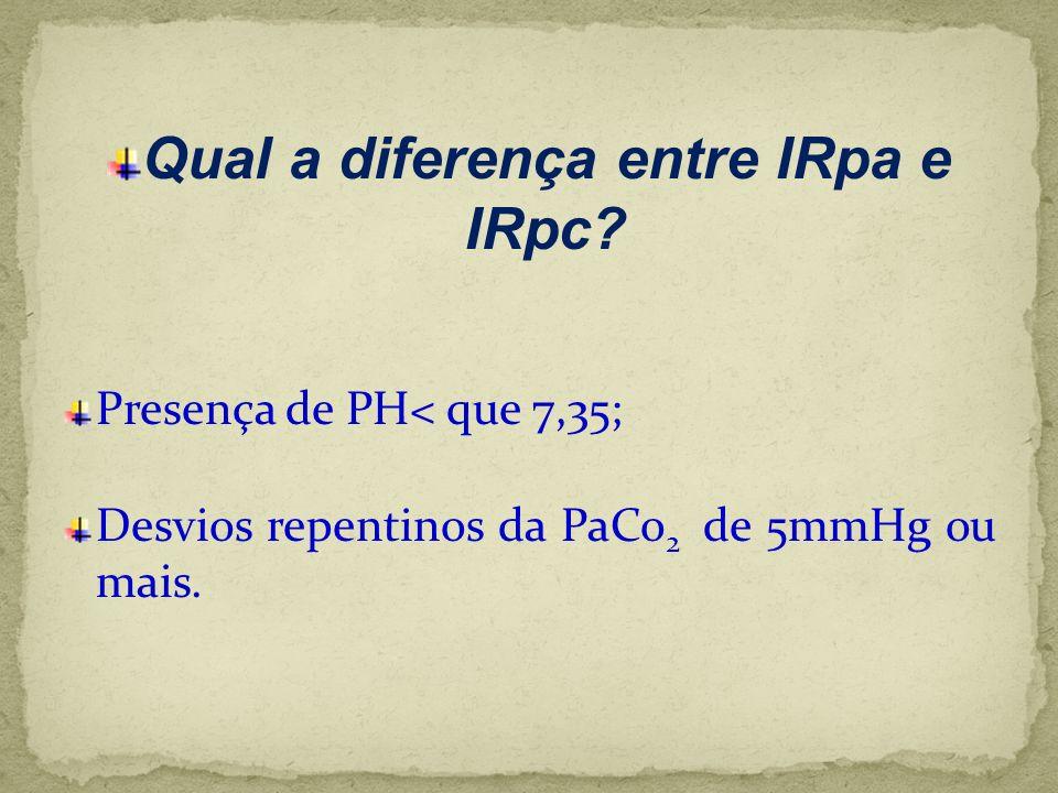 Qual a diferença entre IRpa e IRpc