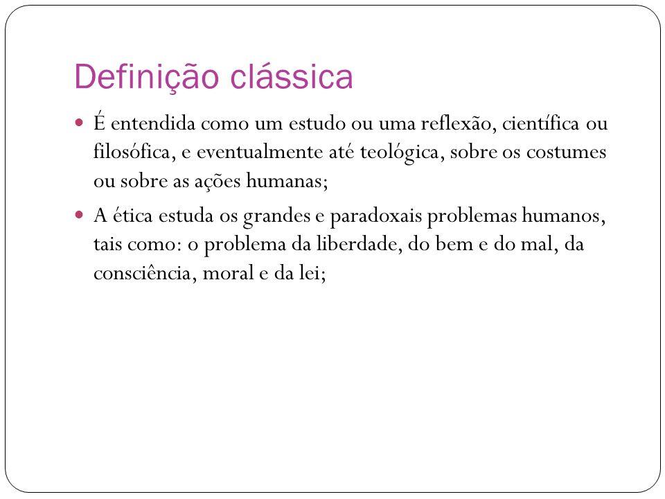 Definição clássica