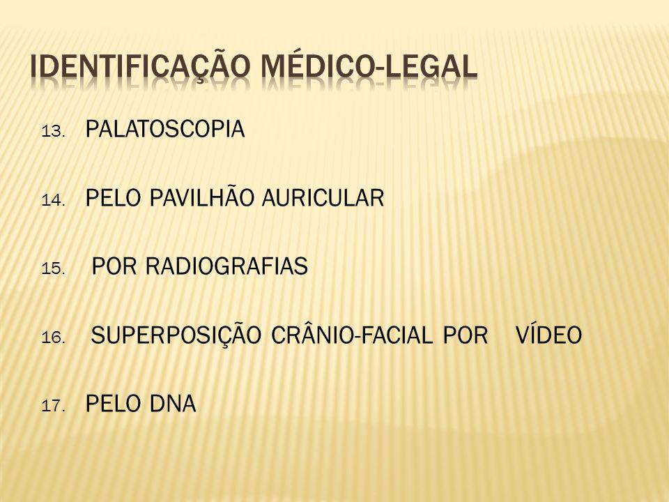 IDENTIFICAÇÃO MÉDICO-LEGAL