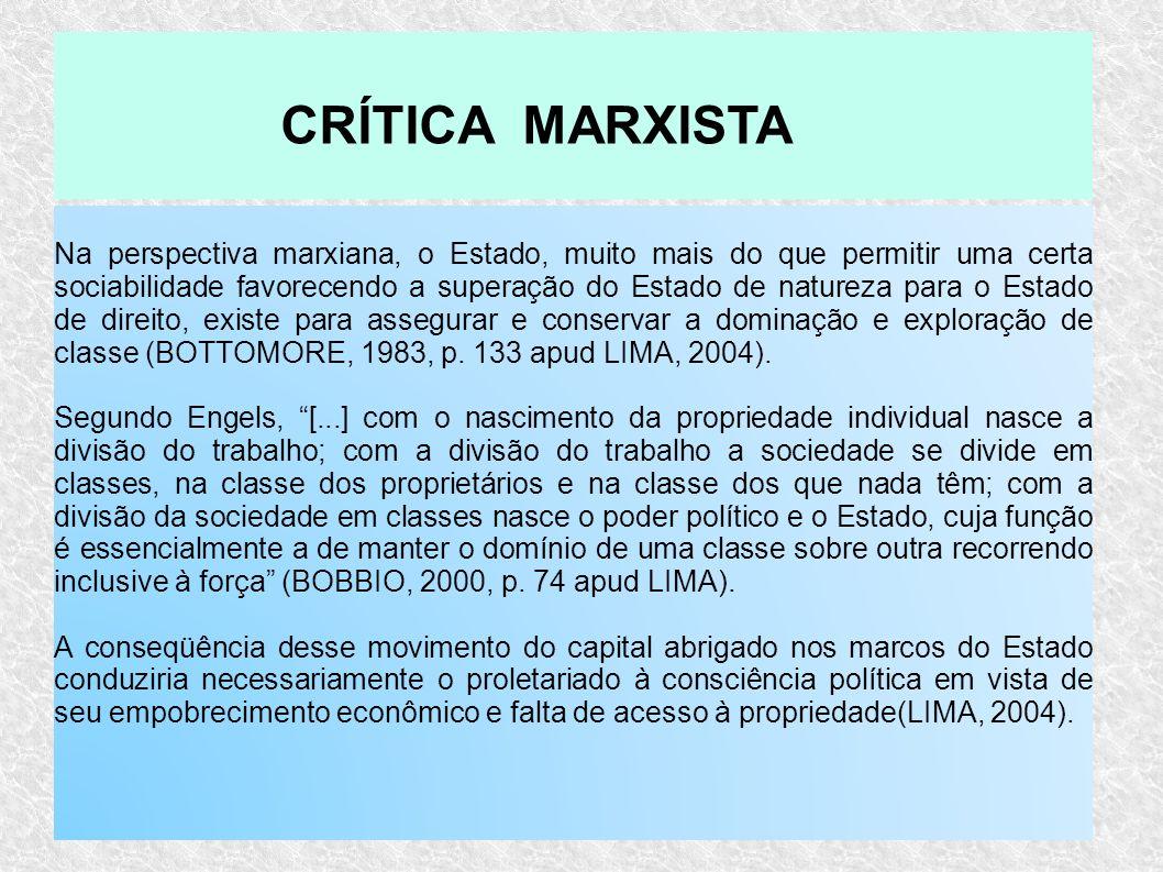 CRÍTICA MARXISTA