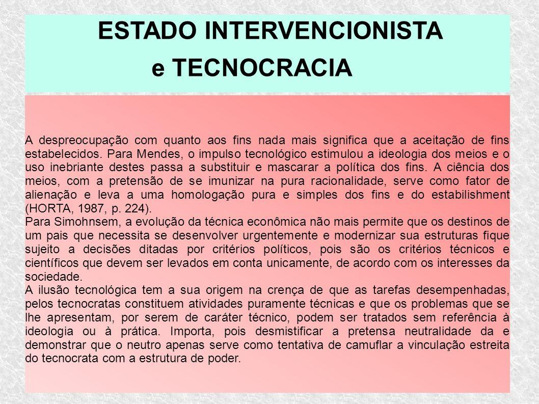 ESTADO INTERVENCIONISTA