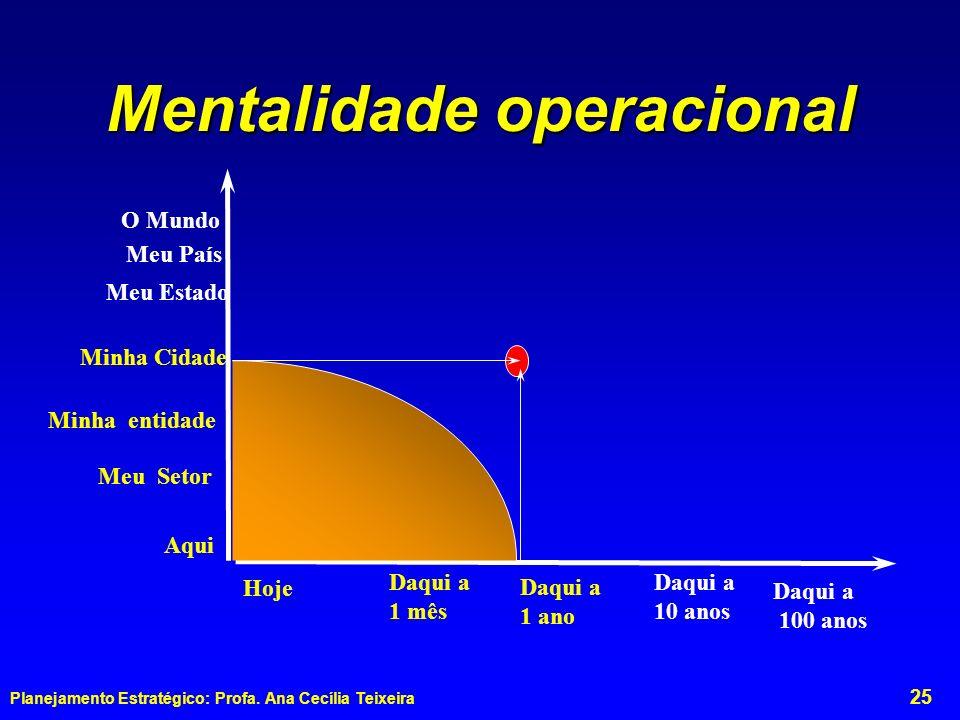 Mentalidade operacional