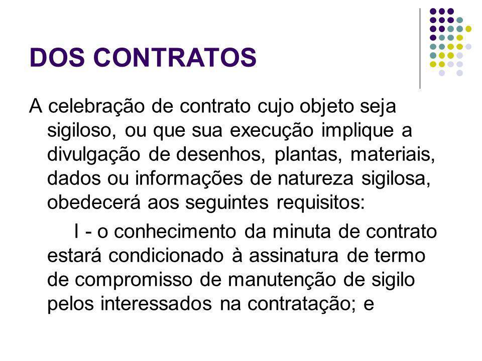 DOS CONTRATOS