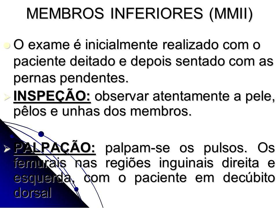MEMBROS INFERIORES (MMII)